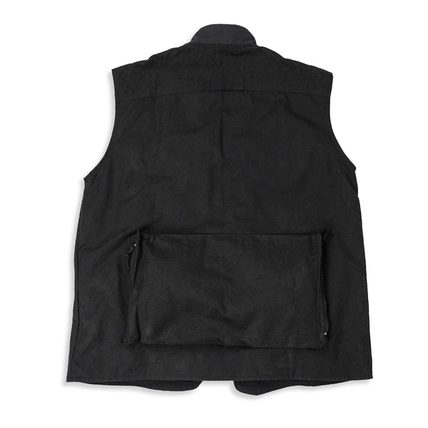 Traveller Multi-Pocket Vest in Black - Kakadu Traders Australia