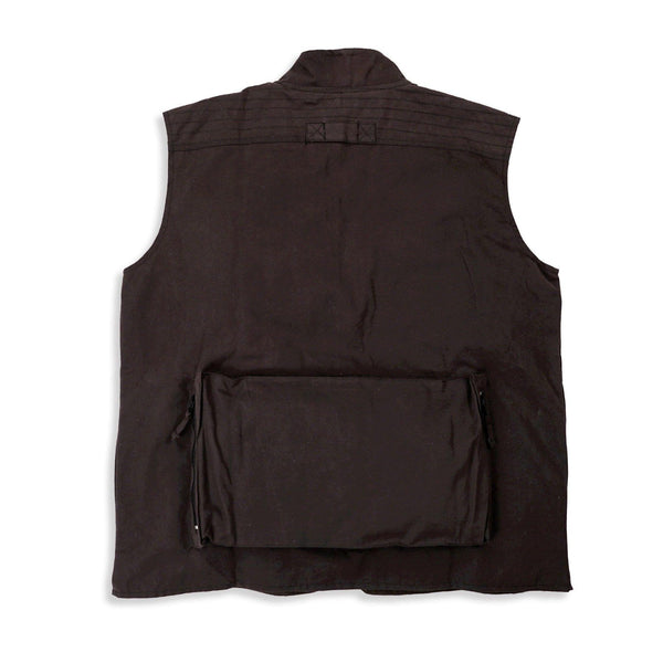 Traveller Multi-Pocket Vest in Brown - Kakadu Traders Australia