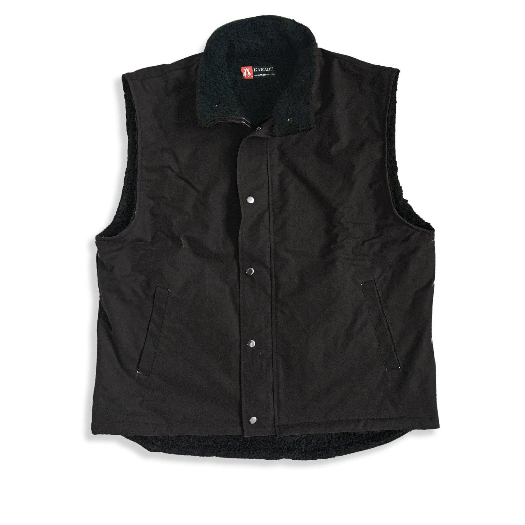Kiwi Workhorse Vest in Black - Kakadu Traders Australia
