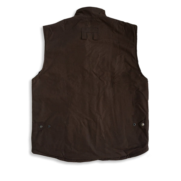 Kiwi Workhorse Vest in Brown - Kakadu Traders Australia