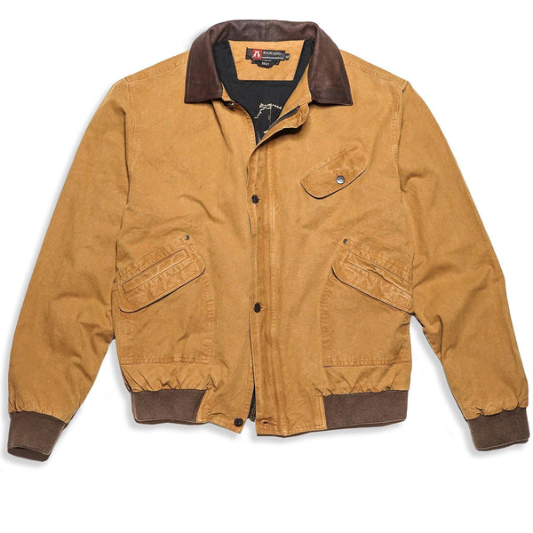 Double Bay Bomber In Mustard - Kakadu Traders Australia