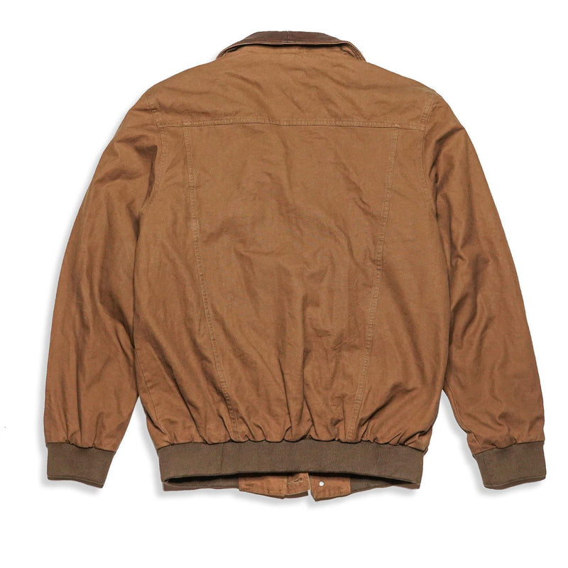 Double Bay Bomber In Tobacco