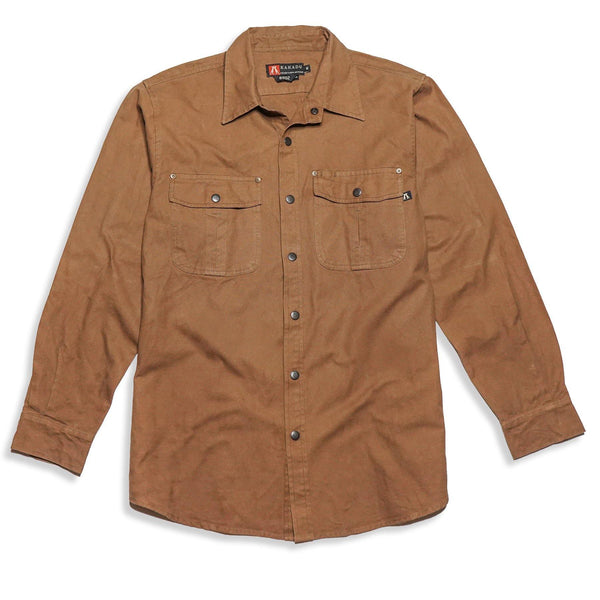 Mcleod Shirt in Tobacco
