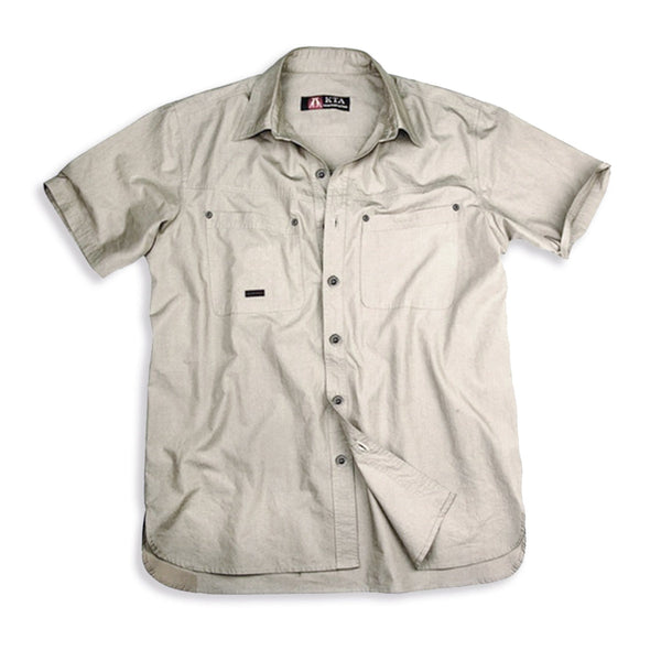Kingsland Shirt in Bone - Kakadu Traders Australia