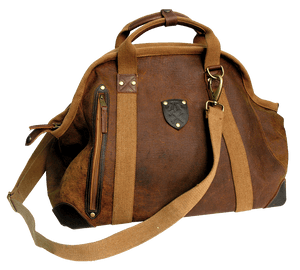 Gunn Weekender Bag In Brown