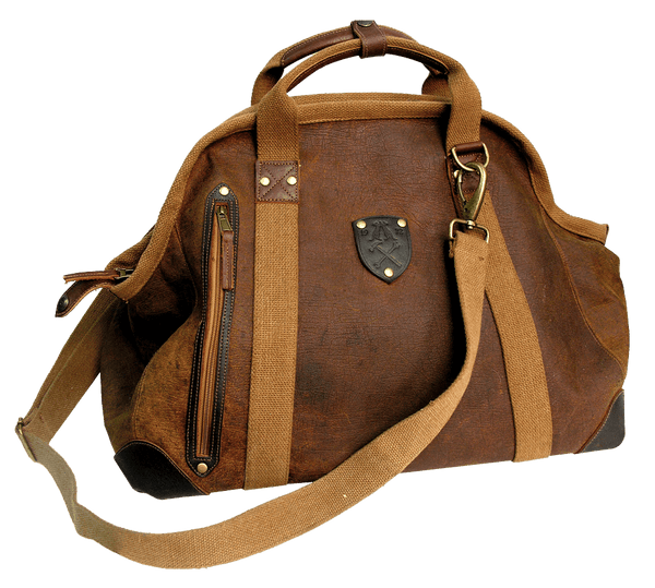 9L07 - GUNN WEEKENDER BAG   Brown