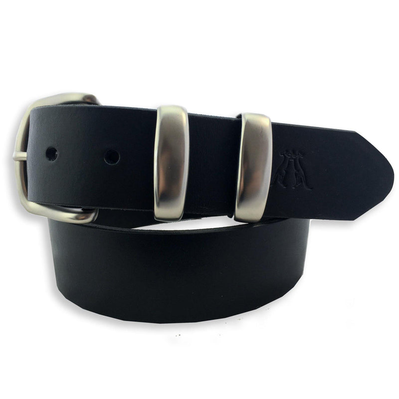 Workhorse Leather Belt Double Keeper