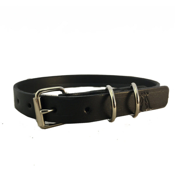 Dog Collar in Black 20mm - Kakadu Traders Australia
