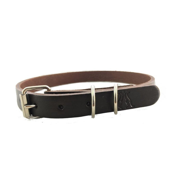 Dog Collar in Brown 20mm - Kakadu Traders Australia