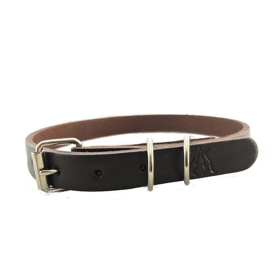 Dog Collar in Brown 20mm