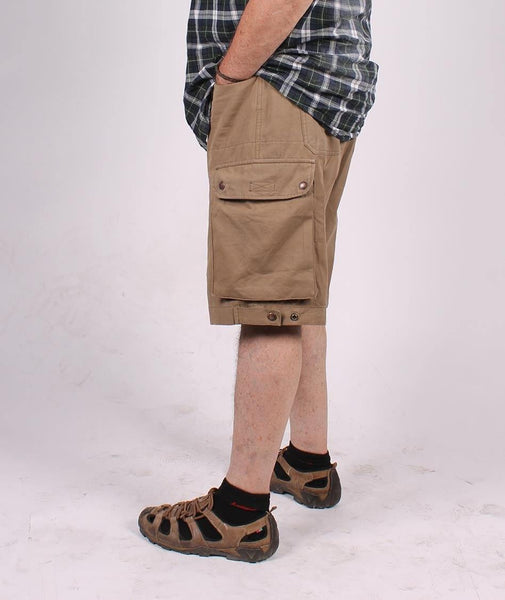 11MP34 MAITLAND CARGO SHORTS     Tobacco