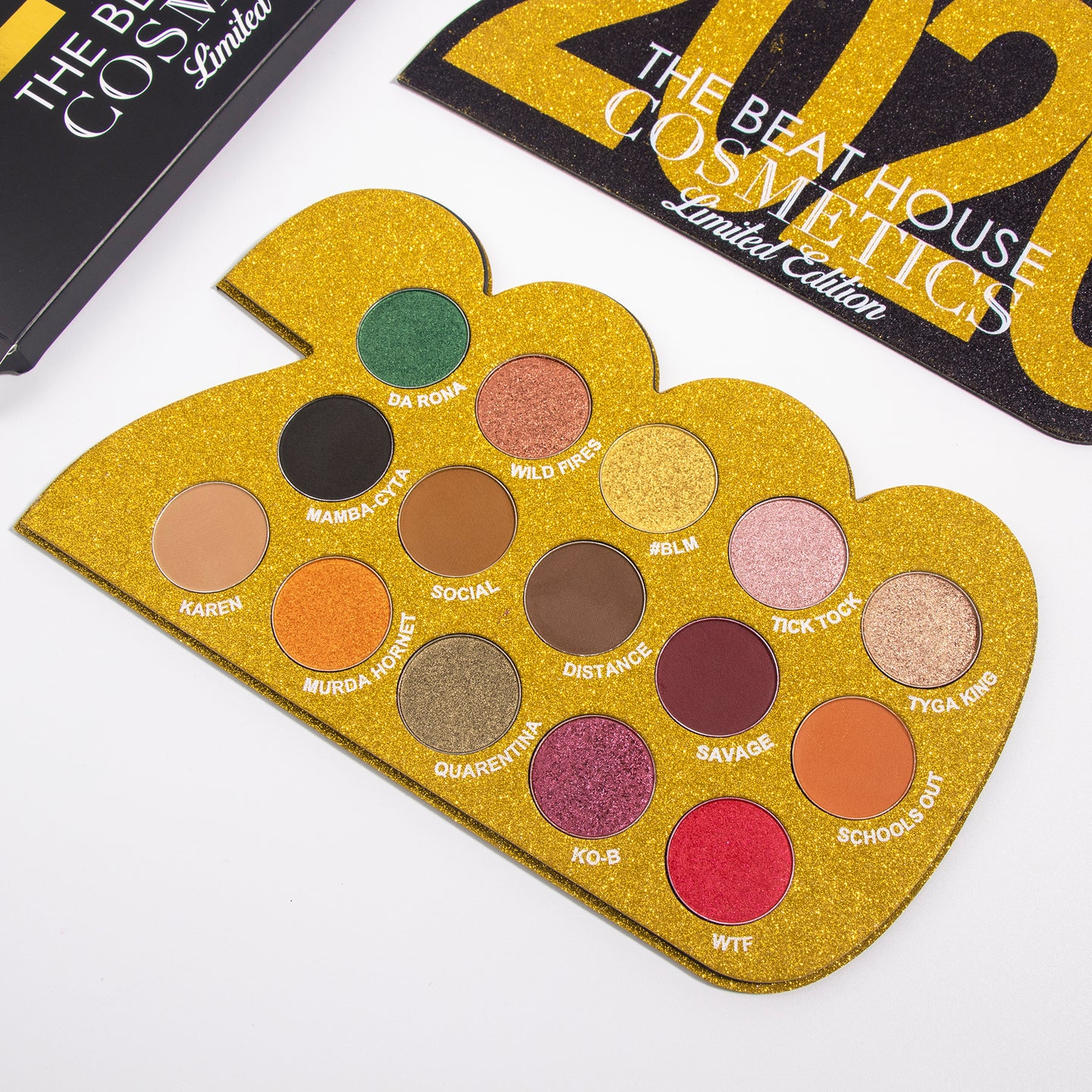 THE 2020 PALETTE LIMITED EDITION - The Beat House