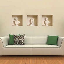 Load image into Gallery viewer, 3D Wall Sticker Art Statues Creative Decorations XQ100015