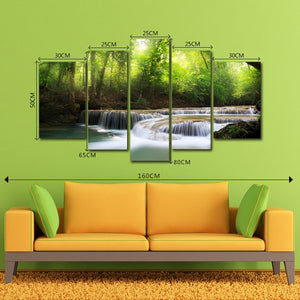 DYC 10091 5PCS Landscape Canvas  Print Art