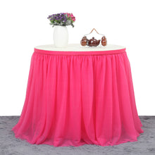 Load image into Gallery viewer, Tutu Tulle Table Skirt Cloth for Party Wedding Home Decor