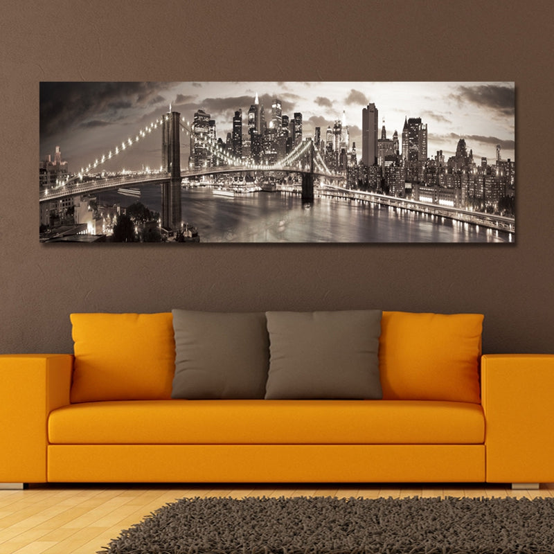 DYC 10890 Photography Architectural Landscape in Busy Cities Print Art