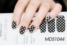Load image into Gallery viewer, 1PC 14pcs/ Sheet Nail Wraps Full Cover Adhesive Nail Art Stickers Waterproof Nail Vinyls Decals  Nails Sticker Art Decorations