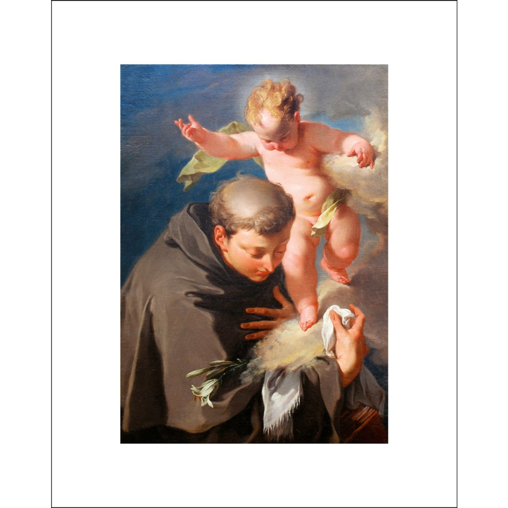 Saint Anthony of Padua Giclee Art Print