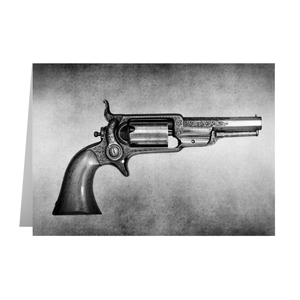 Colt Model 1855 Pocket Percussion Revolver No. 4460 Greeting Card
