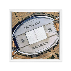 Limited Edition Dallas Cowboy AT&T Stadium Framed Canvas Wall Art