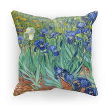 Rare Van Gogh Garden Iris Pillow Cover