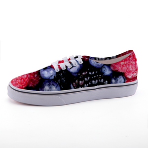 Berry Cool Low Top Unisex Canvas Shoes Size 5, 6, 7, 8, 9 & 10 to 15