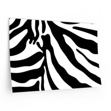 Zebra Animal Print Wall Paper: Small & Oversized Sticker Decals