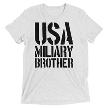 Rare 100% Cotton Made In The USA Military Brother T-Shirt