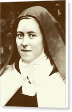 St. Therese Of Lisieux - The Little Flower - Canvas Print