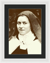 St. Therese Of Lisieux - The Little Flower - Framed Print