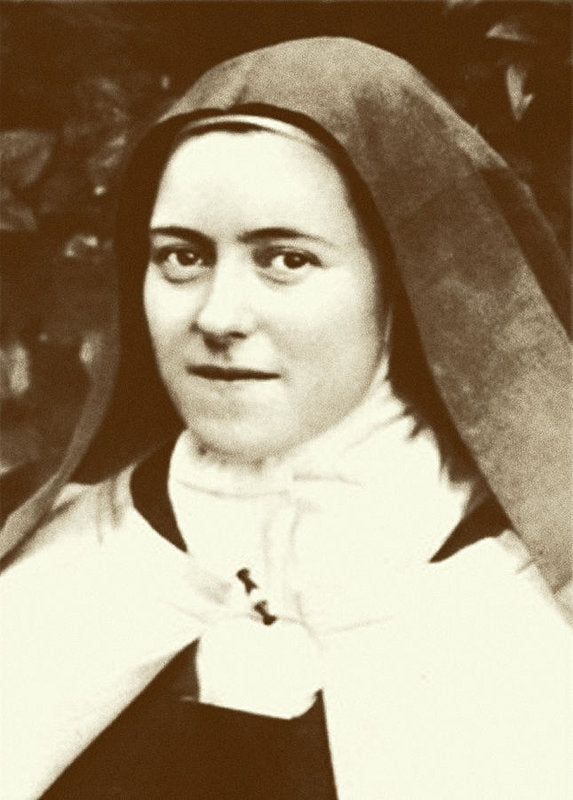 St. Therese Of Lisieux - The Little Flower - Art Print