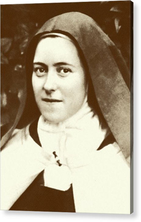 St. Therese Of Lisieux - The Little Flower - Acrylic Print