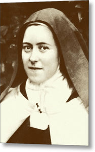 St. Therese Of Lisieux - The Little Flower - Metal Print