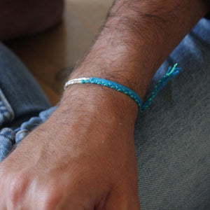 His Silver Summer Bracelets