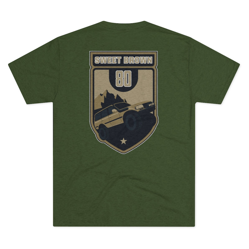Sweet Brown 80 - Premium Men's Tri-Blend Crew Tee