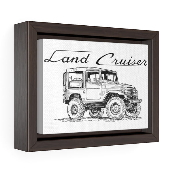 FJ40 Land Cruiser Artwork - Toyota Gallery Wrap Canvas Art - Reefmonkey Artist Prisma Denensi