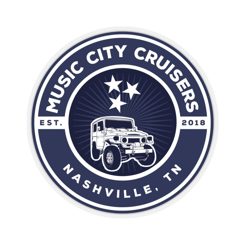 Music City Cruisers Decals Stickers