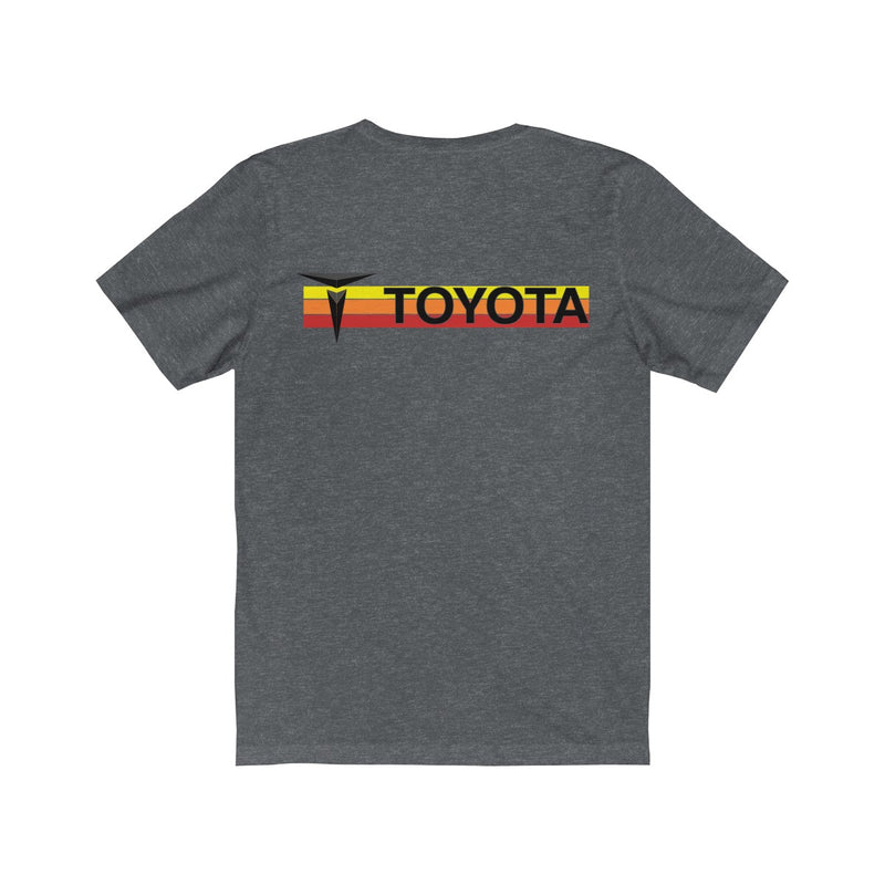 Ivan T Toyota Tshirt Blended Jersey Heather Tee
