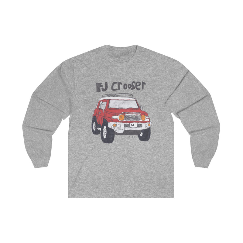 FJ Crooser / FJ Cruiser Kids Art Unisex Long Sleeve Tshirt