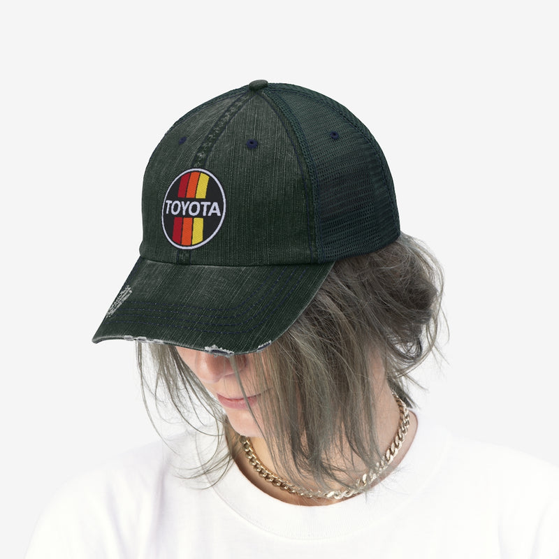TOYODA Old School Embroidered Trucker Hat by Reefmonkey