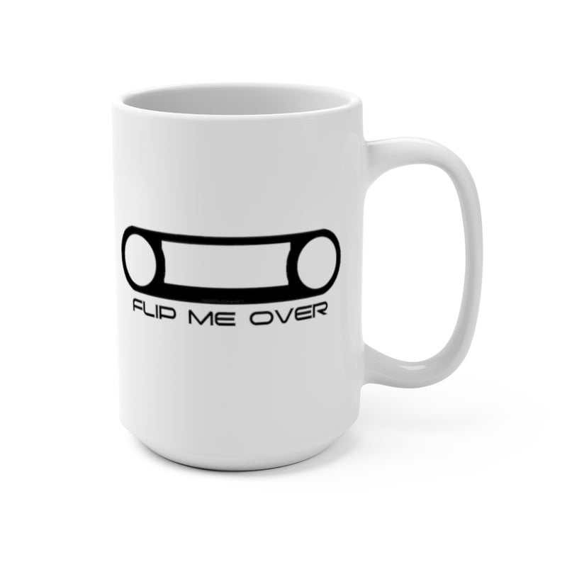 Flip Me Over Mug, Land Cruiser Coffee Cup, FJ40 Coffee Cup, Upside Down Bezel Coffee Mug,  Reefmonkey