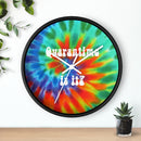 Quarantine Wall Clock - Quarantime is it?