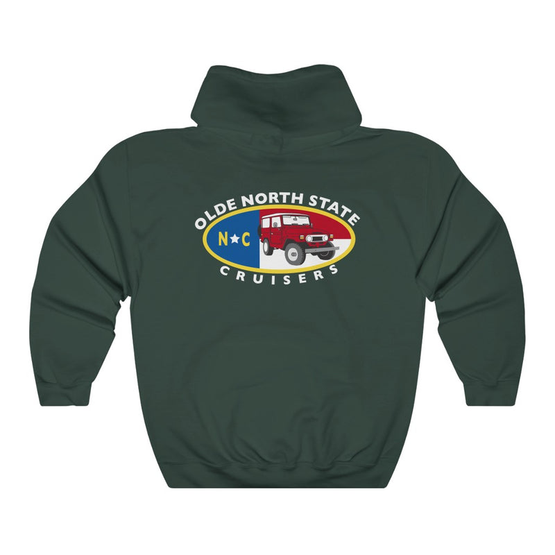 ONSC Olde North State Cruisers Land Cruiser Club Light Hoodie by Reefmonkey