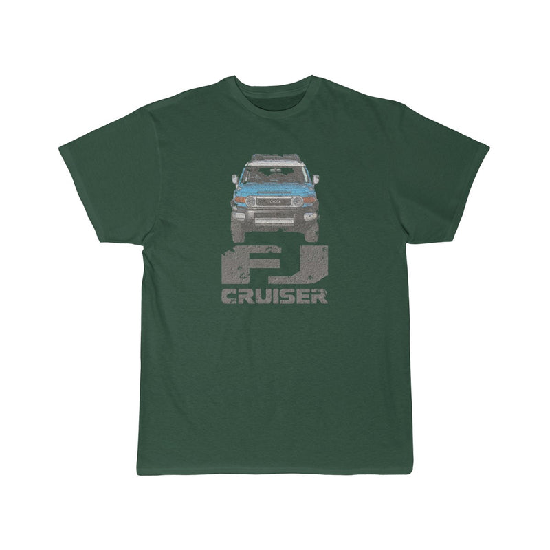 FJ Cruiser Distressed Custom Color: Voodoo Blue Short Sleeve Tshirt