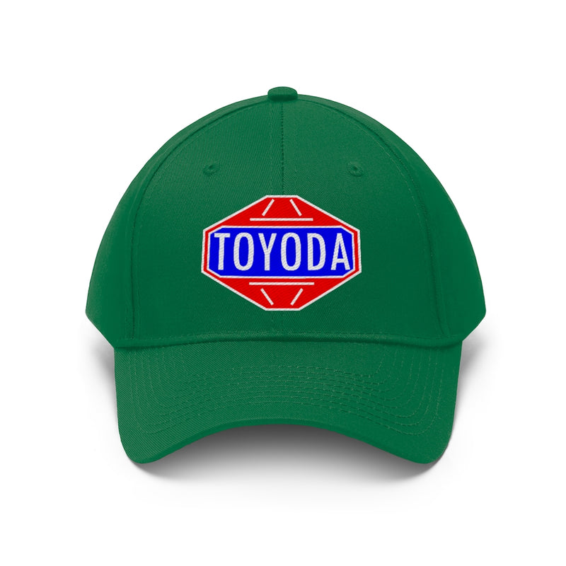 TOYODA Classic Logo Toyota Twill Embroidered Hat