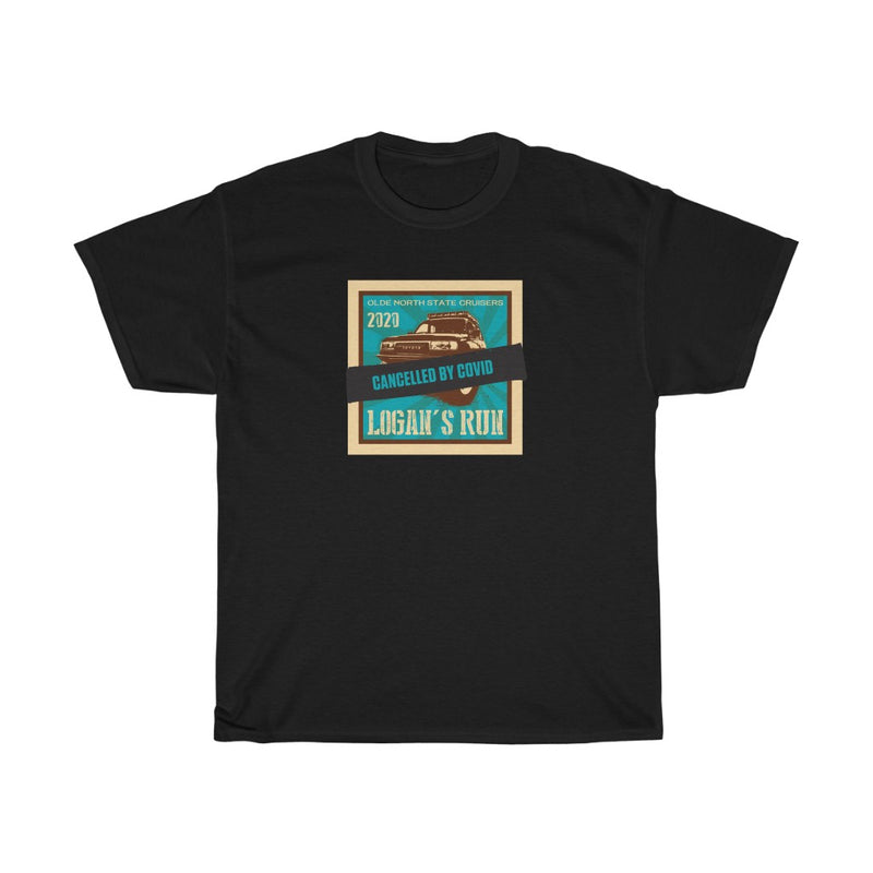 "Logans Run 2020 - ""Canceled By Covid"" Basic Commemorative Tee"