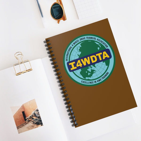 I4WDTA Logbook Spiral Bound Journal - Ruled Line