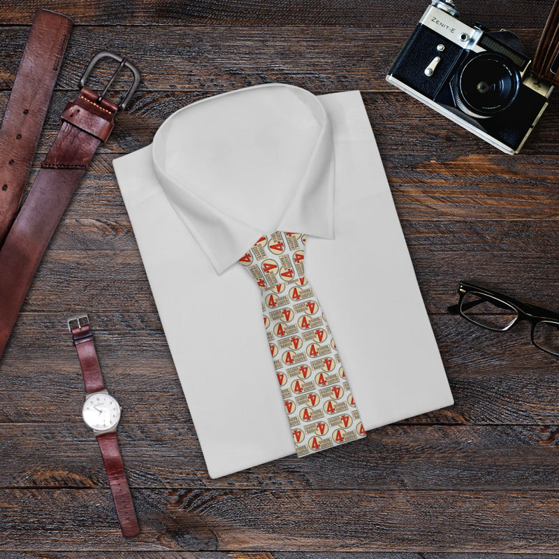 4 Wheel Drive Necktie Toyota Land Cruiser Tie Light Background