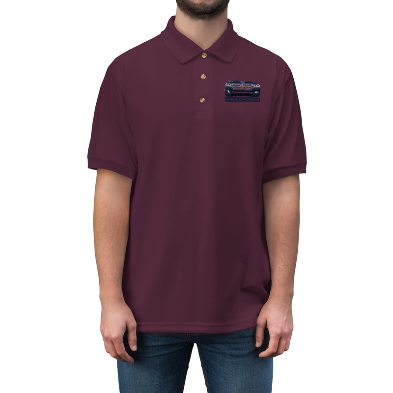 200 Series Land Cruiser - Embroidered Polo Shirt by Reefmonkey