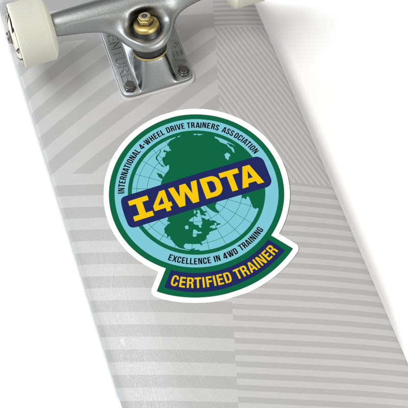I4WDTA Heavy Duty Decals (CERTIFIED TRAINER ONLY)